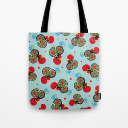 Rooster of Barcelos | Portuguese Lucky Charm Tote Bag