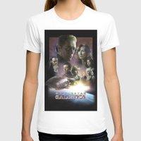 battlestar T-shirts featuring BATTLESTAR GALACTICA POSTER by tanman1