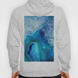blue agate Hoody
