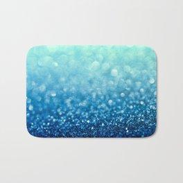 Tell Me True...Ocean Blue Bath Mat