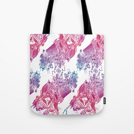 Lord Beansound Vs. Quetzalcoatl  Tote Bag