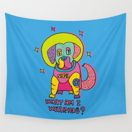 spacedog Wall Tapestry