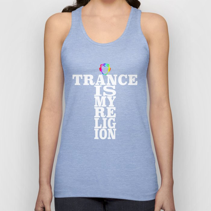 Trance Is My Religion Unisex Tank Top