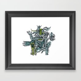 Holy dance - Print available!! Framed Art Print