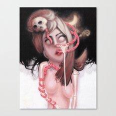 苦悩 Canvas Print