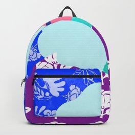 Blue Wallpaper Girl Backpack