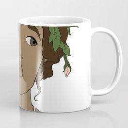 The flower's woman Coffee Mug