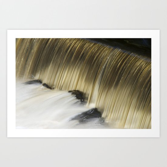 Waterfall II Art Print
