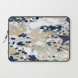 Nigel - Abstract art painting brushstrokes free spirt dorm college masculine feminine art print cali Laptop Sleeve