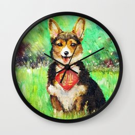 Zodiac - Year of the Dog Wall Clock