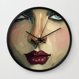 BeautyEyes Wall Clock