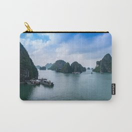 View from Sung Sot Cave, Ha Long Bay, Vietnam Carry-All Pouch