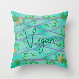 Vegan AF Throw Pillow