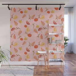 Fall Woodland Wall Mural