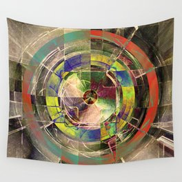 - mechanical sun - Wall Tapestry