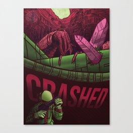Crashed Canvas Print