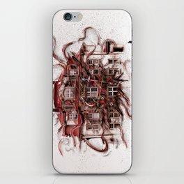 Lebendige Zeit iPhone Skin