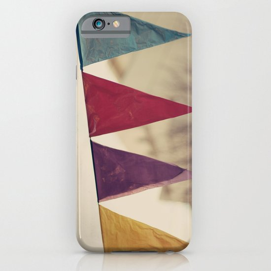 Flags (Vintage and retro photopgraphy) iPhone & iPod Case