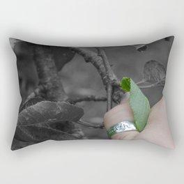 Faith Brings Life Rectangular Pillow