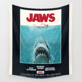 Jaws - Movie Poster Wall Tapestry