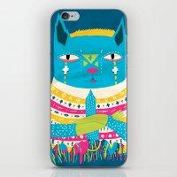 transistor iPhone & iPod Skins featuring Transistor Cat by ebanimoloka