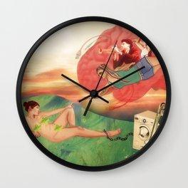 """""""La creación de las locas"""" Wall Clock"""