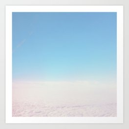Cloud Carpet Art Print