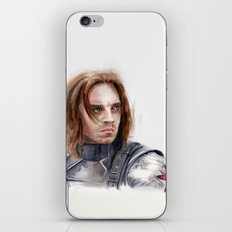 Who the hell is Bucky iPhone Skin
