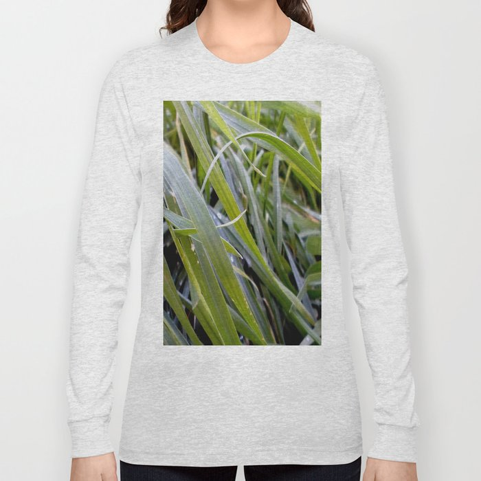 water and greenery Long Sleeve T-shirt