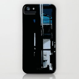 Tokyo Nightview  Blue house cool iPhone Case