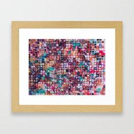 Grid I Framed Art Print