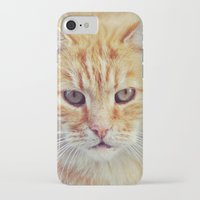 ginger iPhone & iPod Cases featuring Ginger by LindaMarieAnson