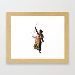 IUD Liberty Framed Art Print