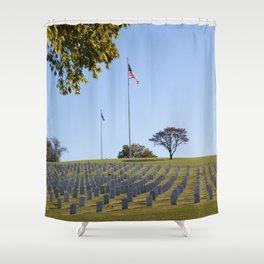 The Last Full Measure of Devotion Shower Curtain