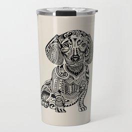 Polynesian Dachshund Travel Mug