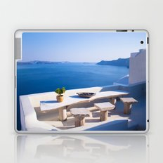 Oia, Greece #decor #buyart #society6 Laptop & iPad Skin