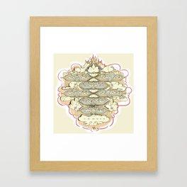 42 Letter Name Framed Art Print