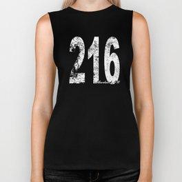 Vintage Cleveland Area Code 216 Biker Tank
