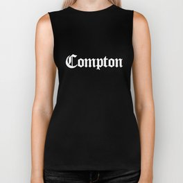 COMPTON Gothic California LA Los Angeles California Biker Tank