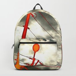 Vivid electricity Backpack