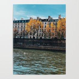 Fall Colors of Paris 1 Poster