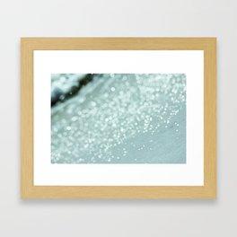 The Ocean's Glow Framed Art Print