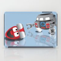 olaf iPad Cases featuring OLAF - INCENT by dapperdesignz