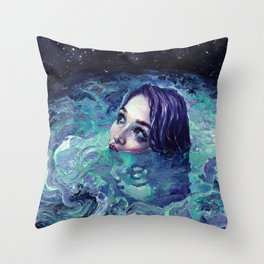Whirlwind Calm Throw Pillow