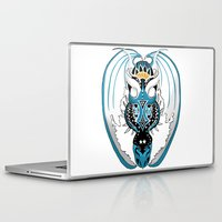 skyfall Laptop & iPad Skins featuring Skyfall Dragon by Pr0l0gue