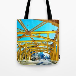 Tower Bridge (Sacramento, CA, USA) Tote Bag