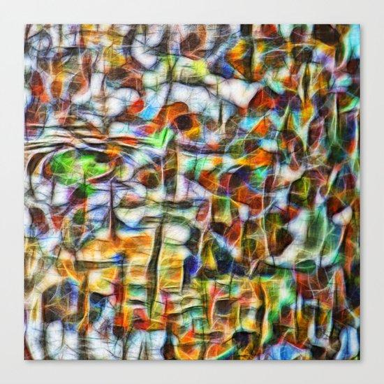 Beautiful abstract bark texture Canvas Print