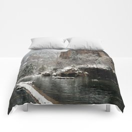 Hanging Lake, White River National Forest CO Comforters
