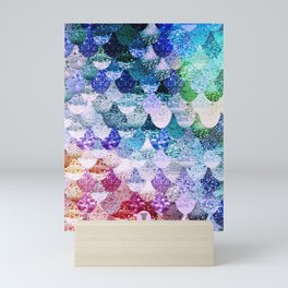 REALLY MERMAID FUNKY Mini Art Print