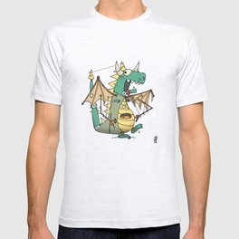 A Kobold in Dragon Clothing T-shirt